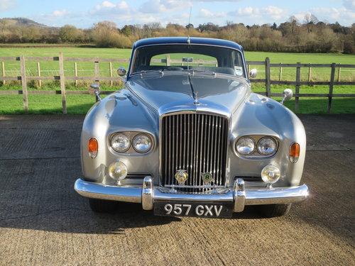 1963 Bentley S III Standard Steel Saloon SOLD (picture 1 of 6)