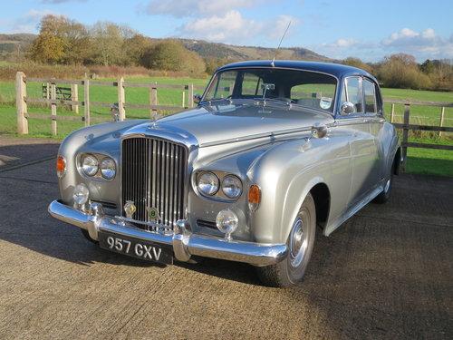 1963 Bentley S III Standard Steel Saloon SOLD (picture 2 of 6)