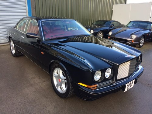 1993 Bentley Continental R LHD 45k Miles.Superb SOLD (picture 1 of 6)