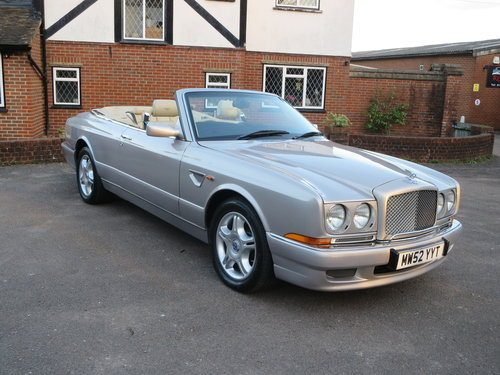 2003 Bentley Azure Mulliner Wide Body For Sale (picture 1 of 6)