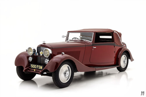 1934 BENTLEY 3.5 LITRE DROPHEAD COUPE For Sale (picture 1 of 6)
