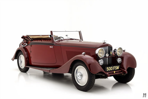 1934 BENTLEY 3.5 LITRE DROPHEAD COUPE For Sale (picture 2 of 6)