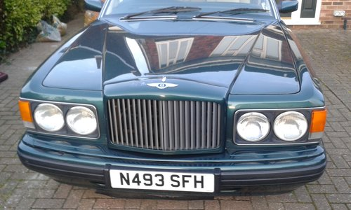 1996 Bentley Brooklands for sale For Sale (picture 1 of 6)