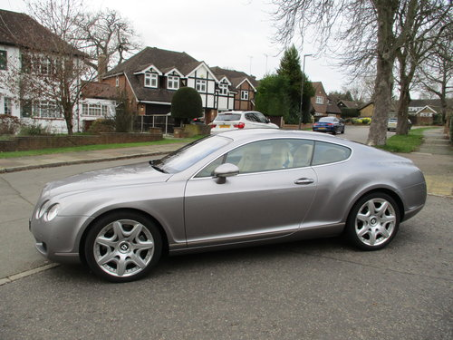 Bentley Continental GT Mulliner 2006 /06 48,800 miles only  For Sale (picture 1 of 6)