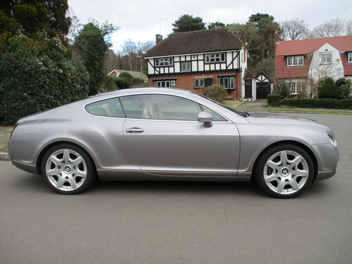 Bentley Continental GT Mulliner 2006 /06 48,800 miles only  For Sale (picture 2 of 6)