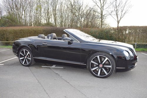 2007/56 Bentley Continental GTC in Beluga For Sale (picture 1 of 6)
