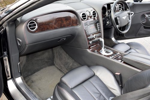 2007/56 Bentley Continental GTC in Beluga For Sale (picture 2 of 6)