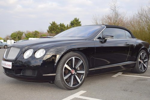 2007/56 Bentley Continental GTC in Beluga For Sale (picture 4 of 6)
