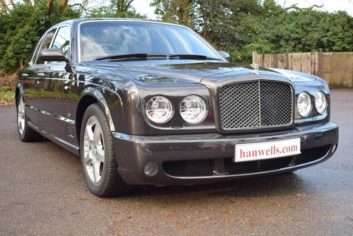 2008 Model/57 Bentley Arnage T Mulliner 2 in Royal Ebony For Sale (picture 1 of 6)