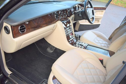 2008 Model/57 Bentley Arnage T Mulliner 2 in Royal Ebony For Sale (picture 2 of 6)