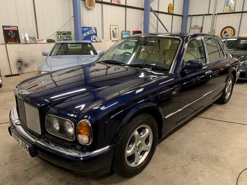 1998 Bentley Arnage 4.4 Green label  SOLD (picture 5 of 6)