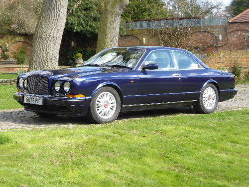 1996 Bentley Continental R For Sale (picture 2 of 6)