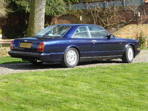 1996 Bentley Continental R For Sale (picture 3 of 6)
