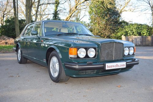 1995 M Bentley Turbo R MK III in Racing Green For Sale (picture 1 of 6)
