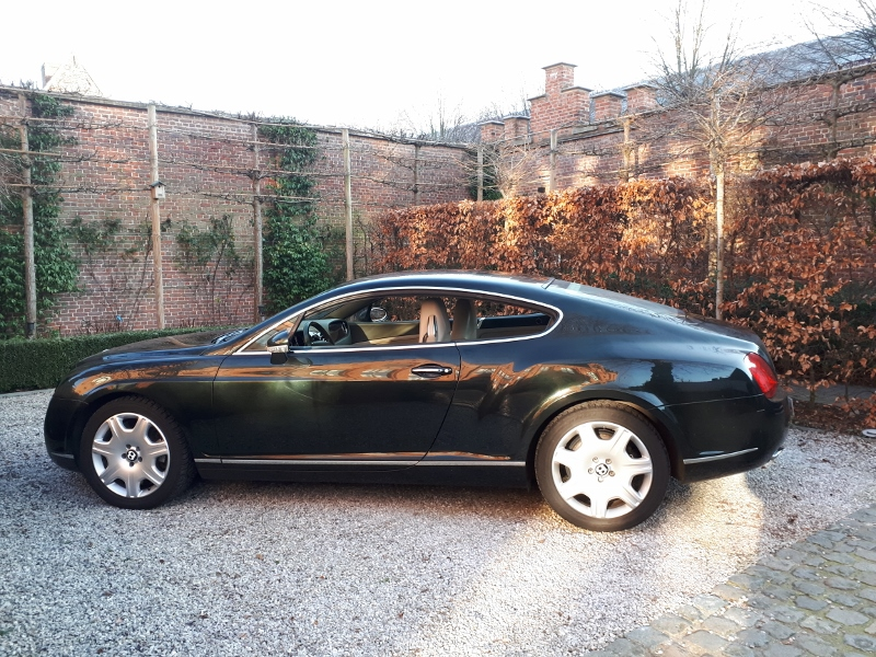 Elegant LHD Bentley Continental Coupe from 2004 For Sale (picture 2 of 6)