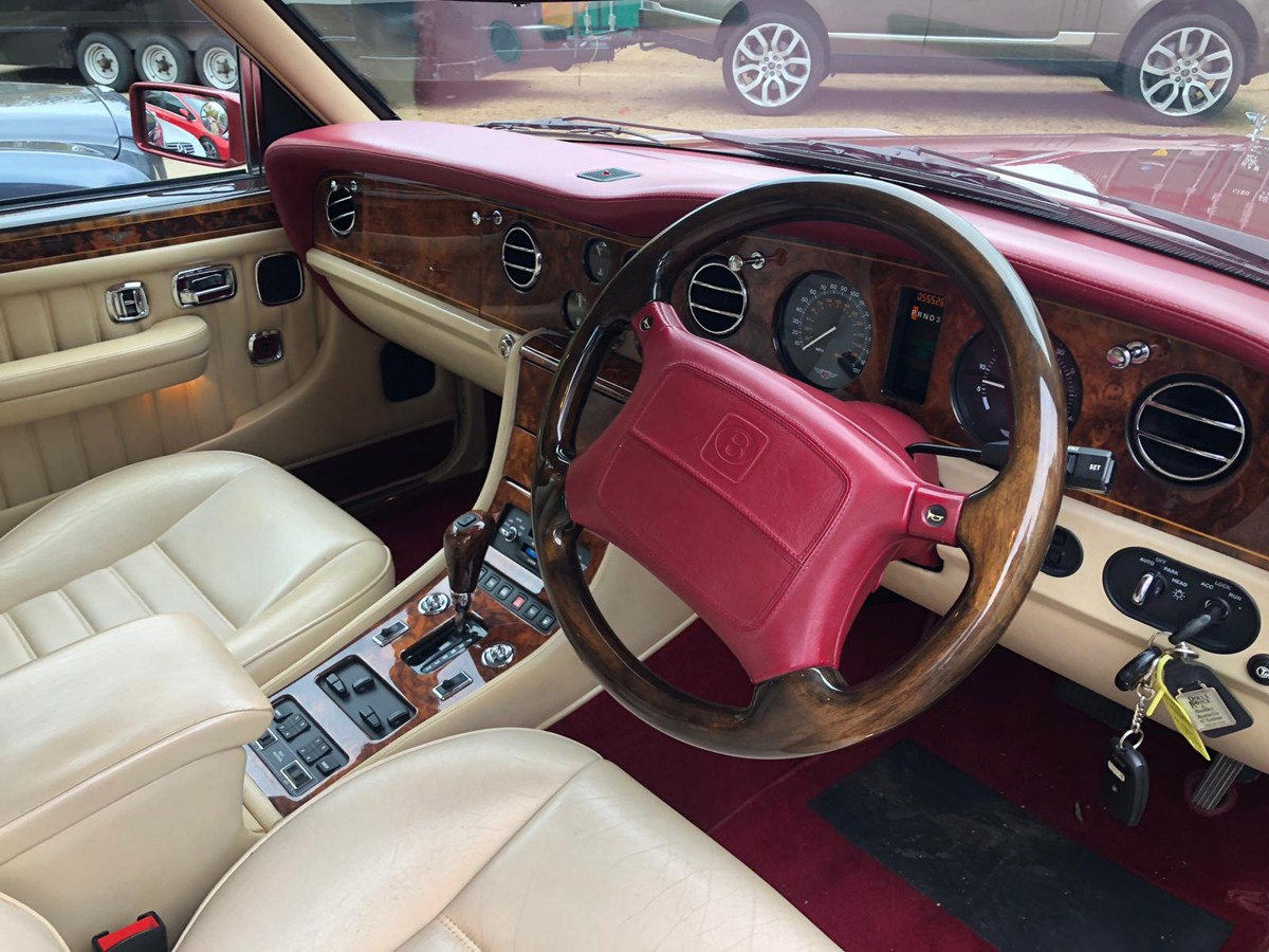 1997 Bentley Turbo R – Long Wheel Base Version: 16 Feb For Sale by Auction (picture 4 of 4)