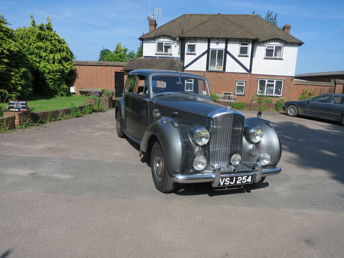 1950 Bentley MK VI Sports Saloon 4 1/4 SOLD (picture 1 of 6)