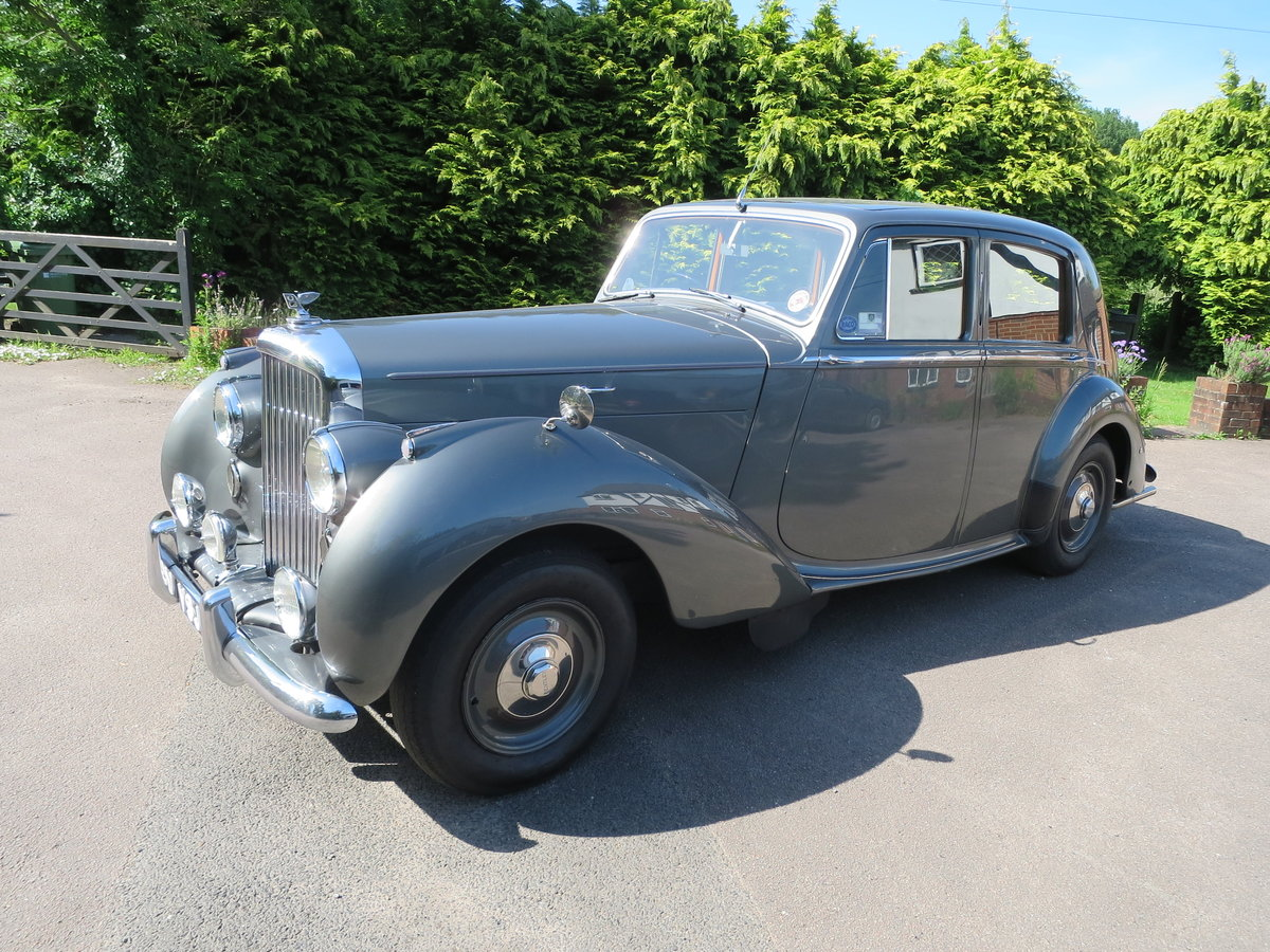 1950 Bentley MK VI Sports Saloon 4 1/4 SOLD (picture 6 of 6)