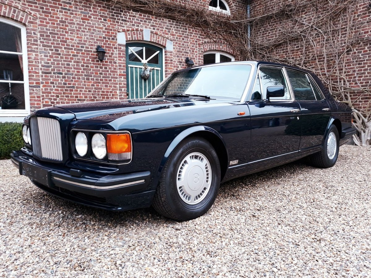 1993 Bentley Turbo R Bleu Royal metal For Sale (picture 1 of 6)