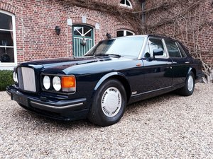Bentley Turbo R Bleu Royal metal
