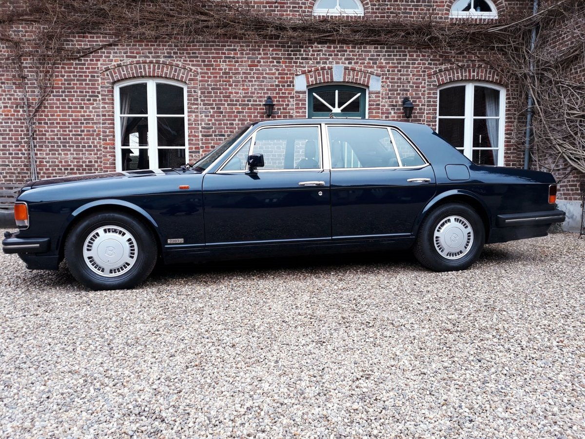 1993 Bentley Turbo R Bleu Royal metal For Sale (picture 2 of 6)
