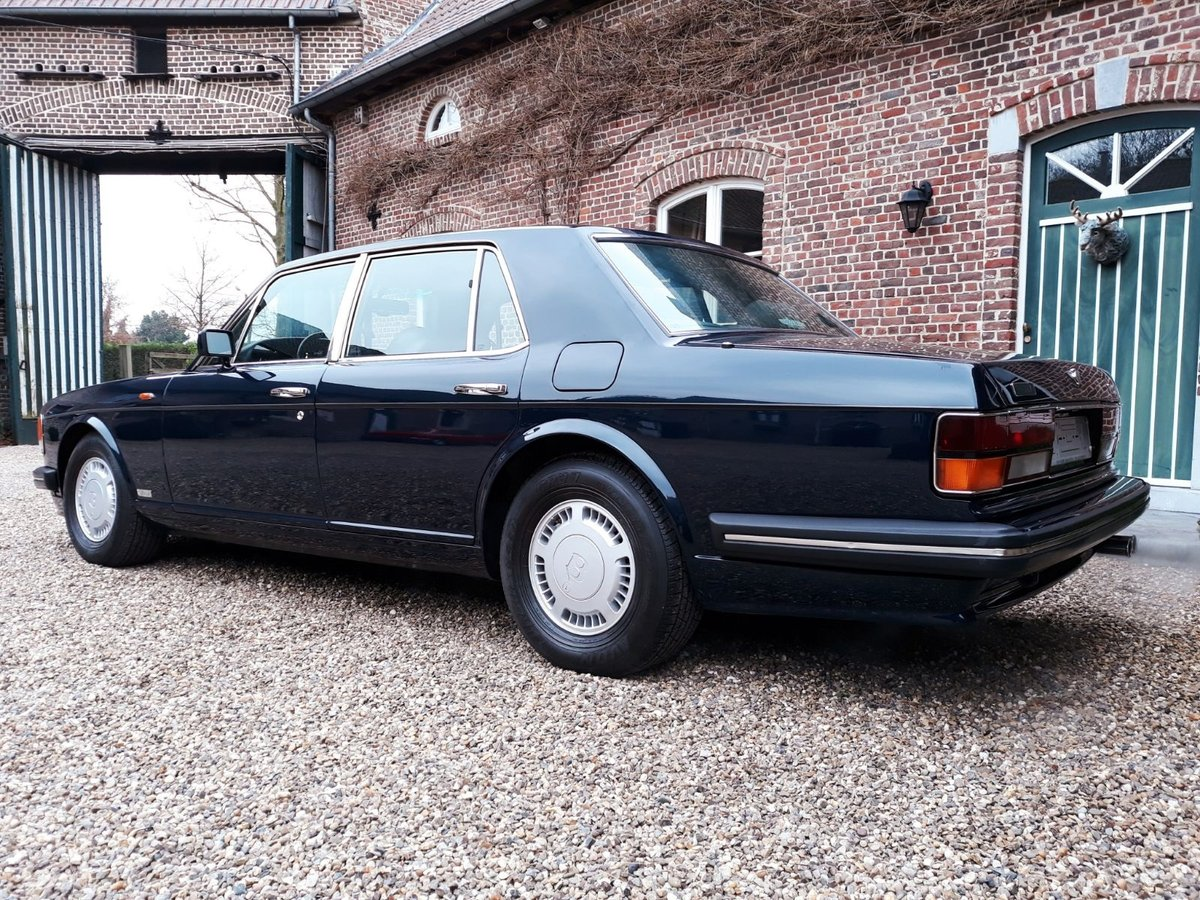 1993 Bentley Turbo R Bleu Royal metal For Sale (picture 3 of 6)