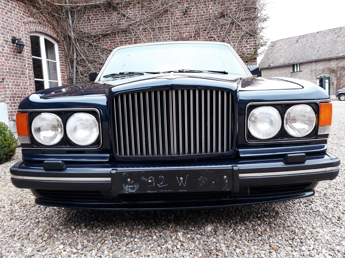 1993 Bentley Turbo R Bleu Royal metal For Sale (picture 4 of 6)