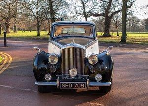 1950 Bentley Mk. VI Standard Steel Saloon SOLD by Auction
