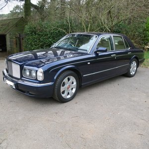 BENTLEY ARNAGE 2000 FOR SALE BY AUCTION For Sale by Auction