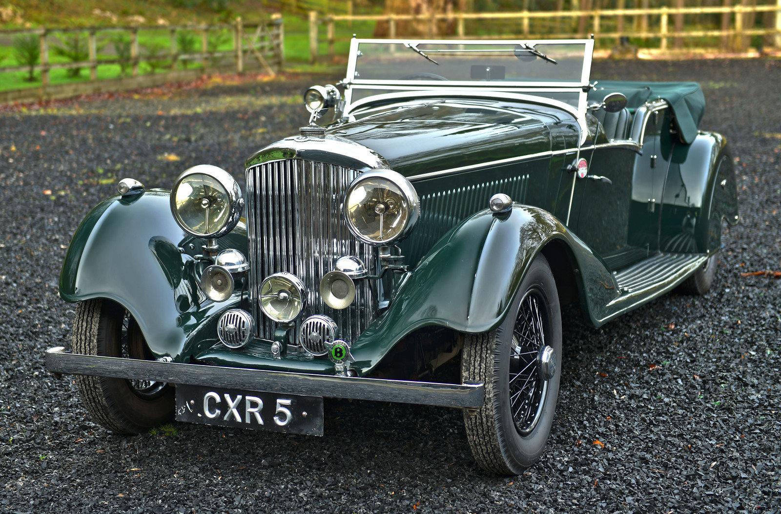 1936 Bentley 4¼-Litre Vanden Plas Tourer For Sale (picture 1 of 6)