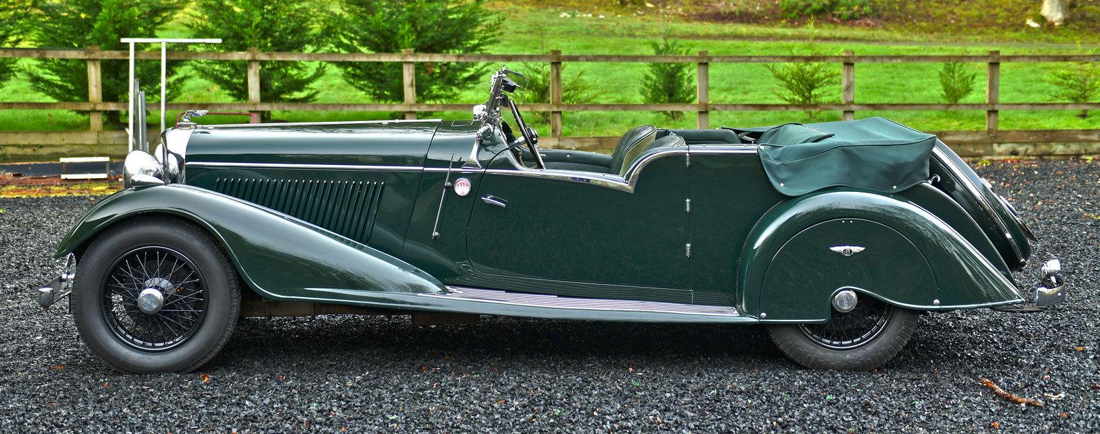1936 Bentley 4¼-Litre Vanden Plas Tourer For Sale (picture 2 of 6)