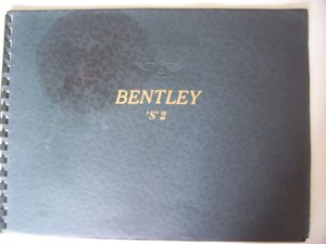 BENTLEY 'S' 2 SALES BROCHURE