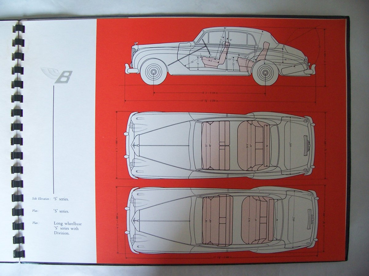 1960 BENTLEY 'S' 2 SALES BROCHURE For Sale (picture 4 of 5)