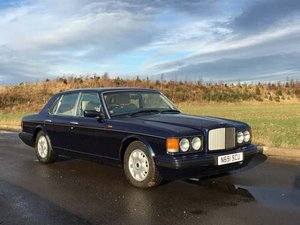 1996 Bentley Brooklands Auto at Morris Leslie Classic Auction  SOLD by Auction