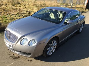 2004 Bentley Continental GT 6.0 W12 Coupe SOLD