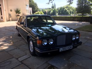 1994 Beautiful Brooklands in BRG with Tan Leather For Sale