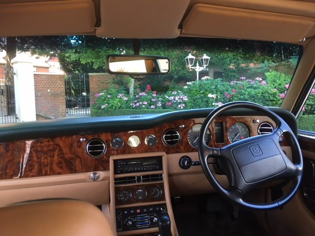 1994 Beautiful Brooklands in BRG with Tan Leather For Sale (picture 6 of 6)