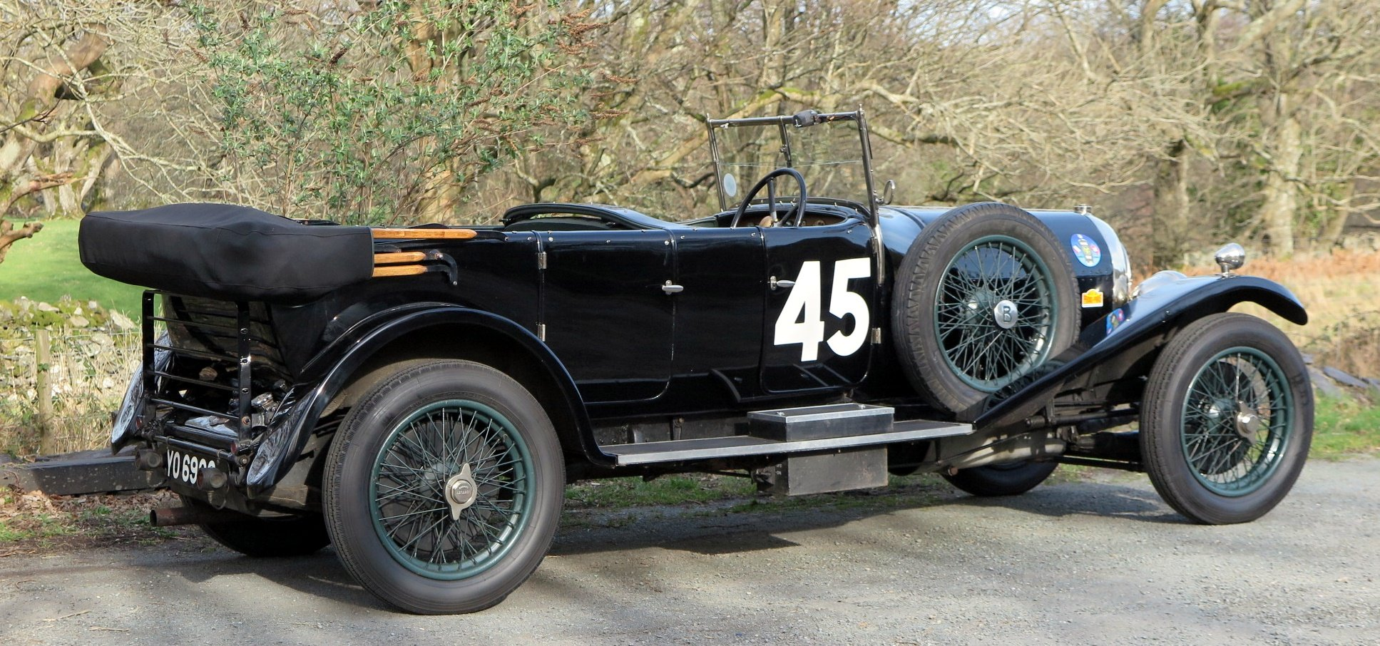 1926 Bentley 3 Ltr Gurney Nutting Open Tourer PH1465 For Sale (picture 2 of 6)