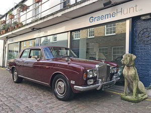 1974 Bentley Corniche FHC SOLD