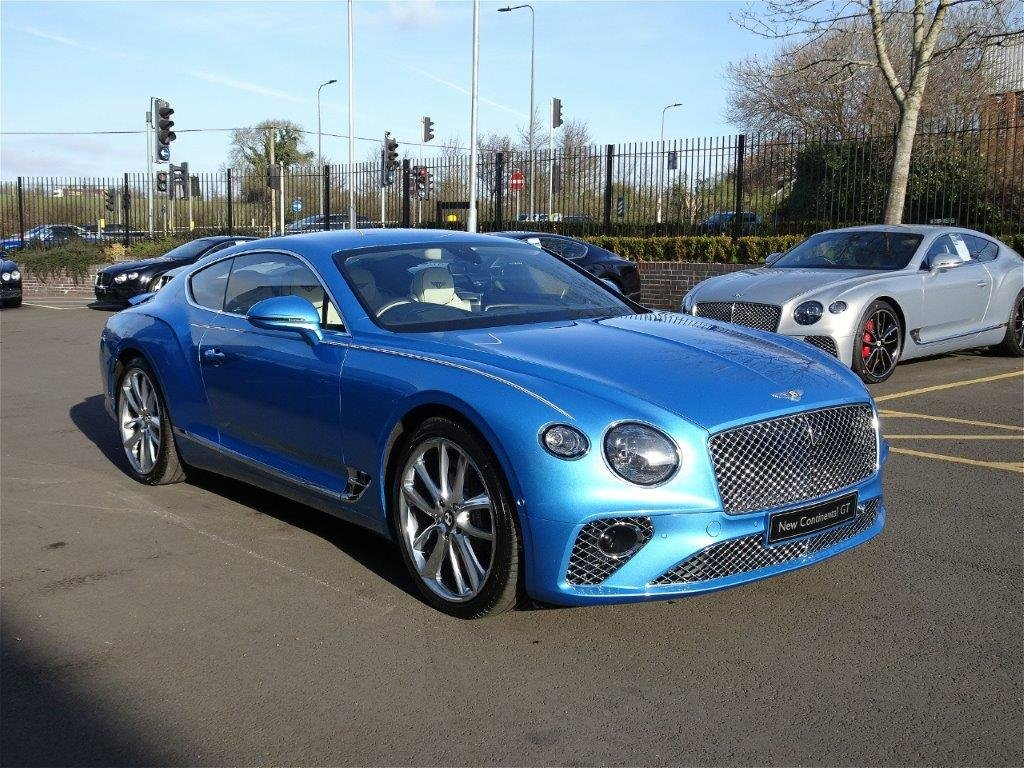 2019 Bentley Continental GT 6.0 W12 Auto RHD 200 miles (19) Reg For Sale (picture 1 of 6)