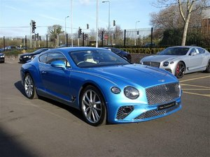 2019 Bentley Continental GT 6.0 W12 Auto RHD 200 miles (19) Reg For Sale