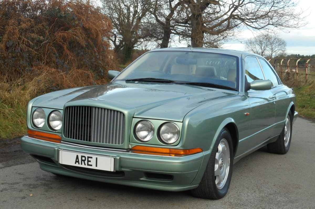1993 BENTLEY CONTIENTAL R  Mulliner Coupe For Sale (picture 2 of 6)