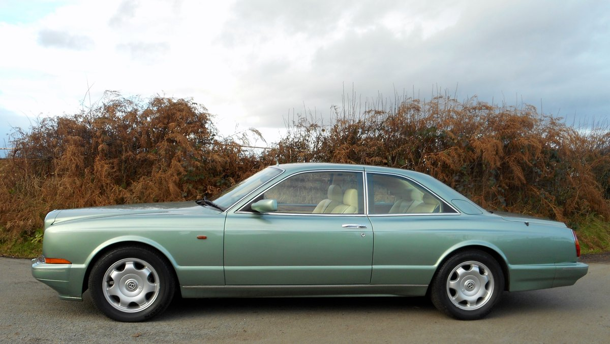 1993 BENTLEY CONTIENTAL R  Mulliner Coupe For Sale (picture 3 of 6)