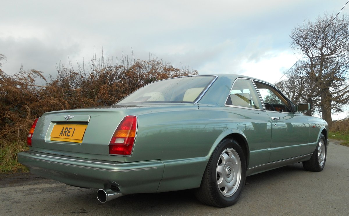 1993 BENTLEY CONTIENTAL R  Mulliner Coupe For Sale (picture 4 of 6)