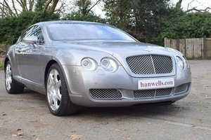2007/07 Bentley Continental GT Mulliner in Silver Tempest For Sale