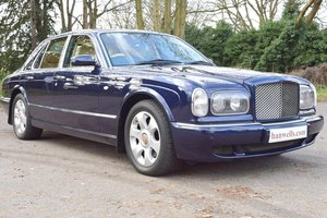 2001/51 Bentley Arnage Red Label in Peacock Blue For Sale