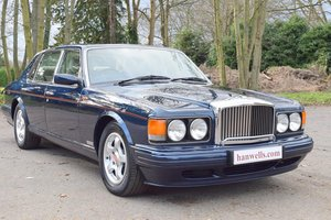 1997 P Bentley Turbo RL in Peacock Blue For Sale
