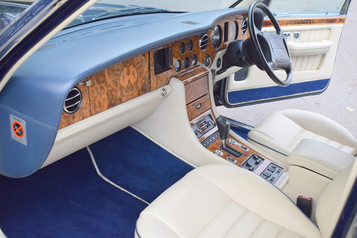 1997 P Bentley Turbo RL in Peacock Blue For Sale (picture 2 of 6)