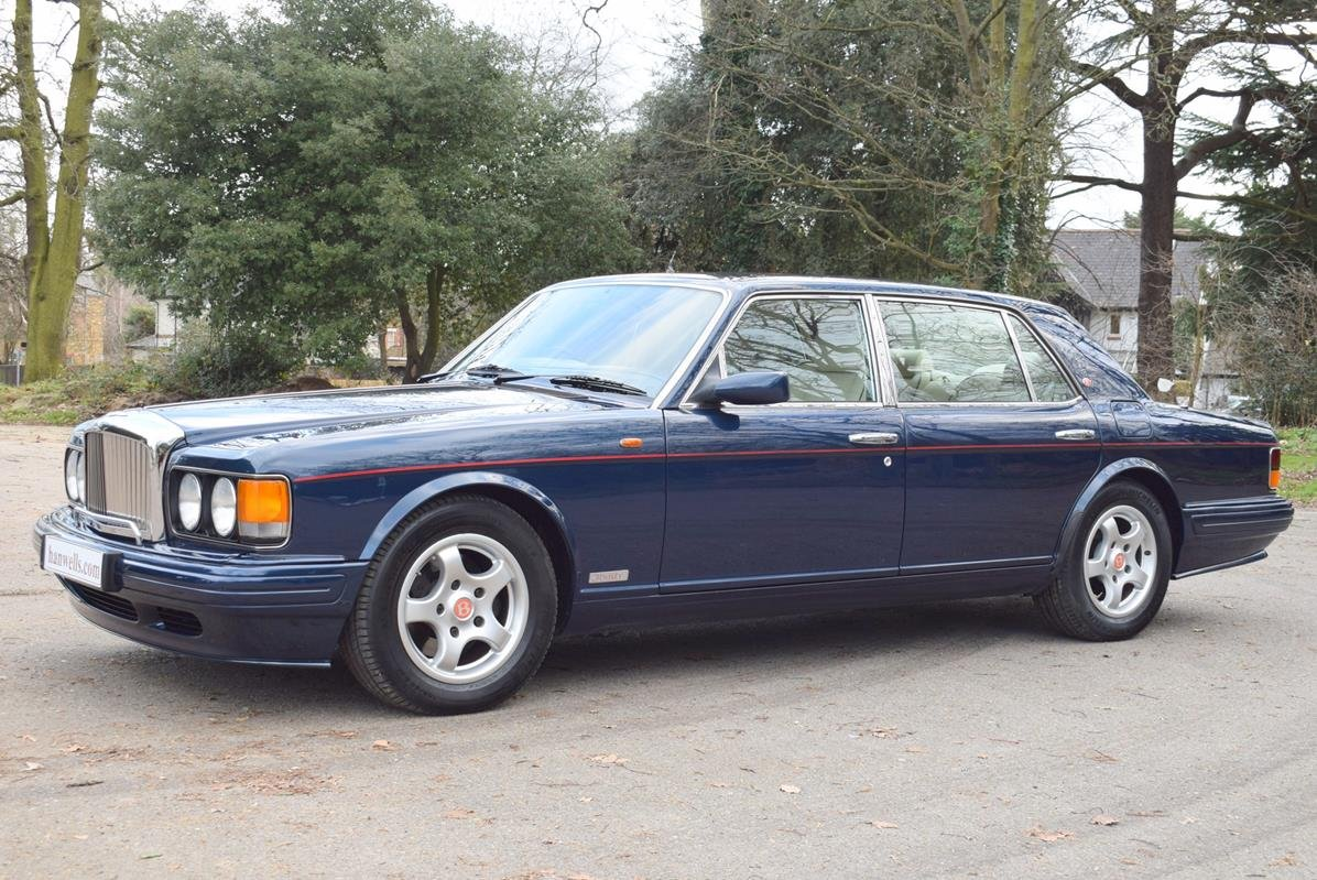 1997 P Bentley Turbo RL in Peacock Blue For Sale (picture 4 of 6)
