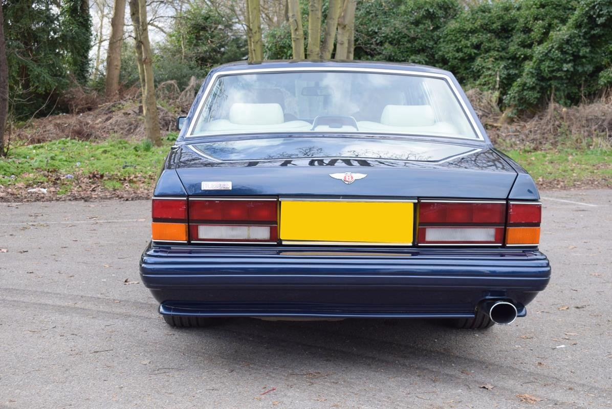 1997 P Bentley Turbo RL in Peacock Blue For Sale (picture 5 of 6)
